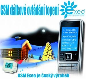 Seznamte se s GSM EXEO – GSM dálkové ovládání topení