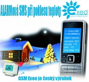 GSM EXEO – ochrání Váš dům před promrznutím