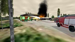 Interaktivní výcvik zásahů všech složek IZS  ve 3D  simulovaném prostředí XVR.