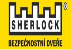 Logo - SHERLOCK bezpečnostní dveře, s.r.o.