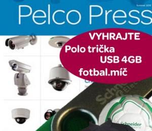 Nabijte se novinkami z oblasti Security od světového výrobce kamerových systémů PELCO a VYHRAJTE!