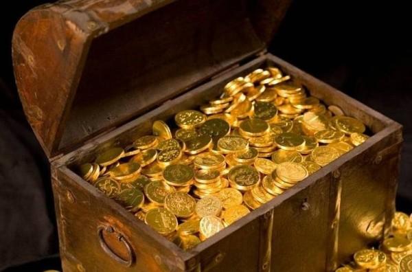 truhla zlato