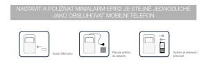 Minialarm EPIR2 ohlídá firmu i domov