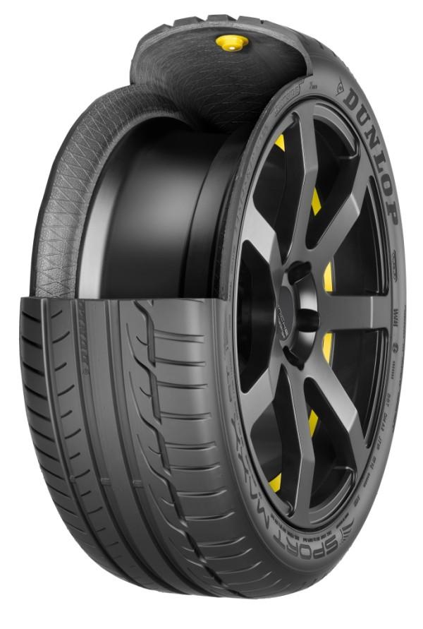 Goodyear Dunlop cip v pneumatice