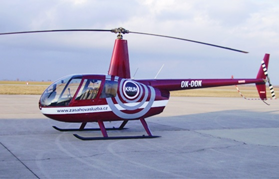 zasahova sluzba vrtulnik