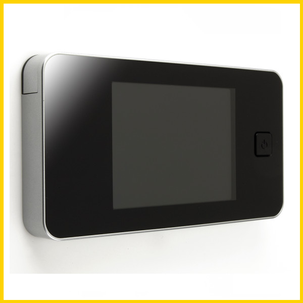 Pohyb přede dveřmi můžete pohodlně sledovat na LCD obrazovce
