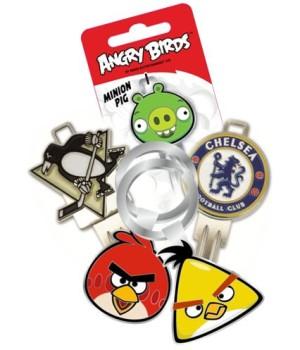 3D klíče: První liga, květiny i útočící Angry Birds