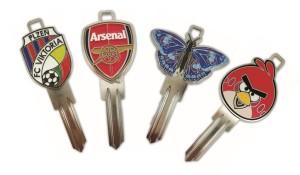 Váš klíč jako originální a atraktivní doplněk!