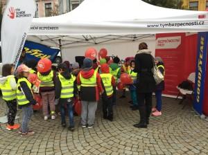 Svět v bezpečí - Úspěšná dopravně-bezpečnostní akce projektu Goodyear Bezpečná školka