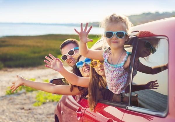 ilustrační foto cestujeme s dětmi